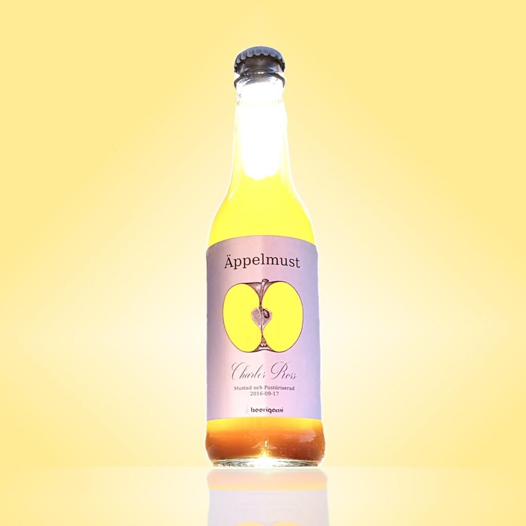 Beerigami apple juice